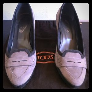 Tods Heeled Driver